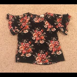Women's Umgee USA Floral Blouse